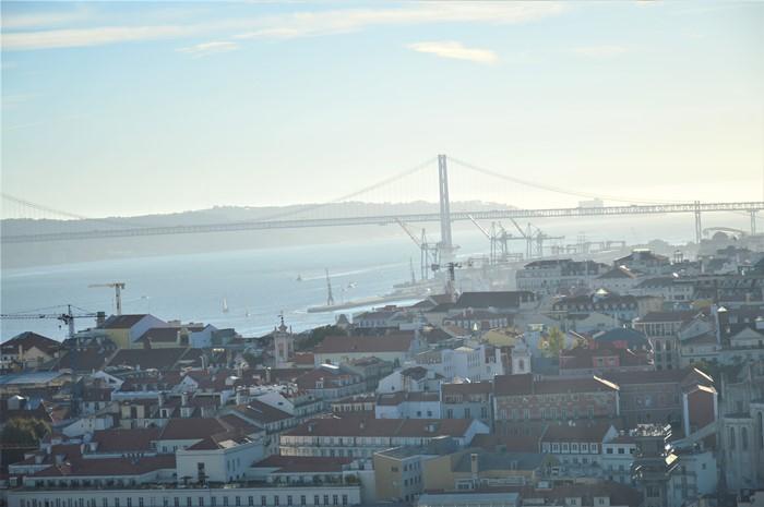 Panorama din S. Jorge