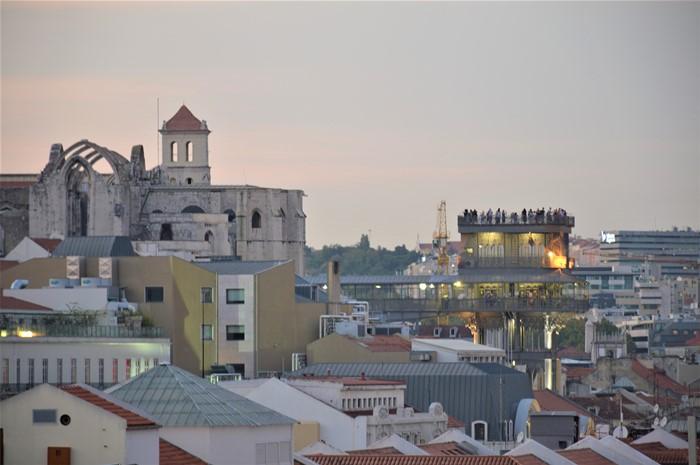 Liftul panoramic Santa Justa
